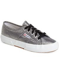Superga 'Lame' Sneaker - Lyst