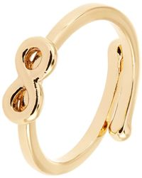 Kate Spade Adjustable Infinity Charm Ring - Lyst