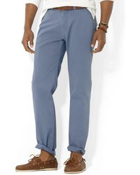 Ralph Lauren Polo Classic-Fit Flat-Front Chino Pant - Lyst