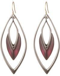 Alexis Bittar Orbiting Wire Earring gold - Lyst