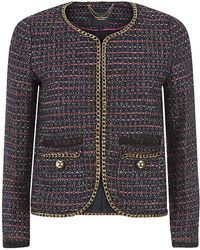 Juicy Couture Boucle Box Jacket - Lyst