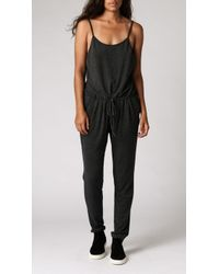 Azalea Platja Jersey Jumpsuit gray - Lyst