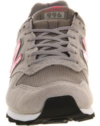 New Balance Gray Wr996 - Lyst