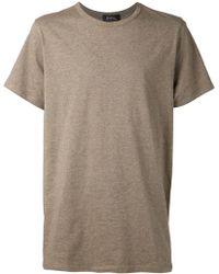 A.P.C. Basic Tshirt - Lyst