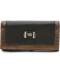 See By Chloé Mina Flat Wallet with Flap  - Lyst