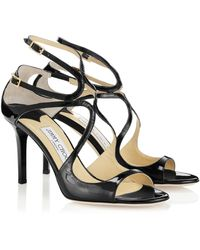 Jimmy Choo Black Ivette - Lyst