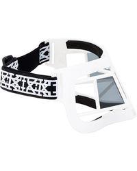 KTZ - White Mask Linda Farrow Edition Sunglasses - Lyst