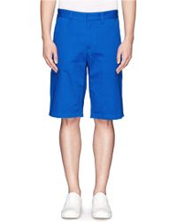 Rag & Bone Sawyer Cotton Twill Shorts - Lyst