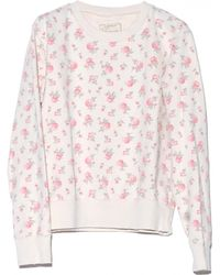 Current/Elliott Falling Roses Sweatshirt - Lyst