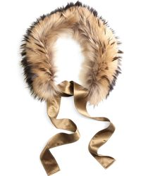 Brooks Brothers Raccoon Collar - Lyst