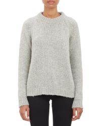 Barneys New York Pullover Sweater - Lyst