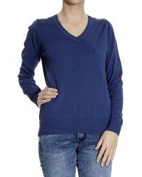 Brooksfield - Sweater V Cotton - Lyst