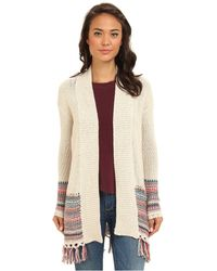 Roxy Near Future Long Cardigan - Lyst
