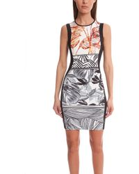 Clover Canyon Gold Leaf Dress multicolor - Lyst