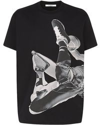 Givenchy Basketball Player Print T-Shirt - Lyst
