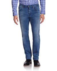 Hugo Boss Maine Straight-Leg Jeans - Lyst