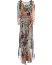 Blumarine Long Dress - Lyst