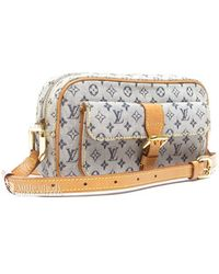Louis Vuitton Preowned Navy Mini Lin Juliette Bag - Lyst