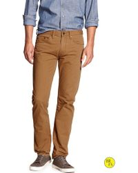 Banana Republic Factory Slim Straight Jean - Lyst