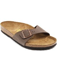 Birkenstock Madrid Brown Mules - Lyst