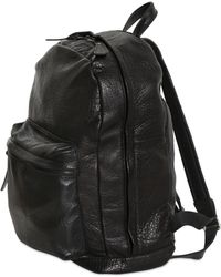Giorgio Brato - Textured Leather Backpack - Lyst
