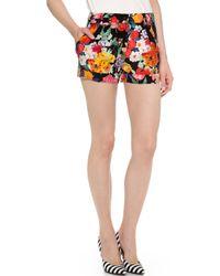 Moschino Printed Shorts - Lyst