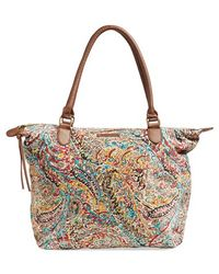 Billabong - 'rift Between Seas' Paisley Print Tote - Lyst