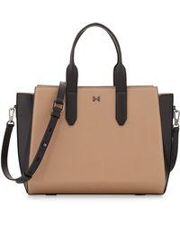Halston Heritage Leather East-west Satchel Bag - Lyst