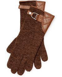 Pink Pony - Belted Wool-blend Gloves - Lyst