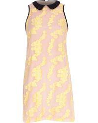 River Island Pink Print Shift Dress - Lyst