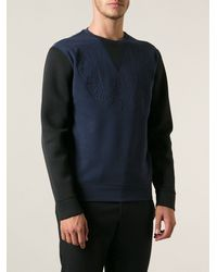 Paolo Pecora Eagle Embossed Sweatshirt - Lyst