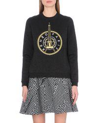 Kenzo Eiffel Tower Jersey Sweatshirt - Lyst