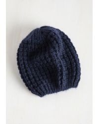Ana Accessories Inc | Beignet Or Nay Hat In Navy | Lyst