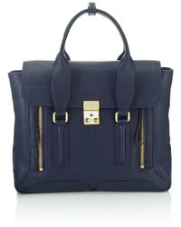 3.1 Phillip Lim Ink Leather Pashli Satchel - Lyst