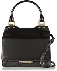 Jimmy Choo Amie Leather Tote - Lyst