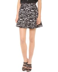 Club Monaco Talley Skirt - Lyst