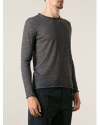 Costume National Melange Sweater - Lyst