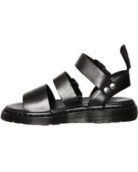 Dr. Martens Unisex Gryphon Strap Sandals Black - Lyst