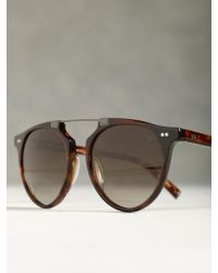 John Varvatos Soho Collection Top Bar Sunglasses - Lyst