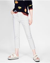 J Brand - Jeans Skinny Bianco - Lyst