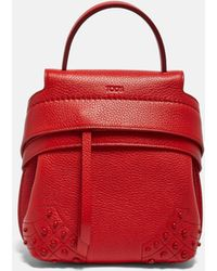 Tod's - Wave Backpack - Lyst