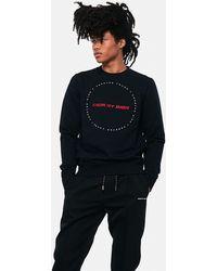 50877a773 Dior Homme Scream Rouge Cotton Blend Sweatshirt - Size M in Black ...