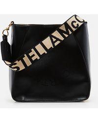 Stella McCartney - Faux Leather Bag Stella Logo - Lyst