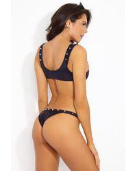 Indah - Cole Studded Bottom - Black - Lyst