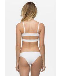 Tavik - Ali Moderate Bikini Bottom - White - Lyst