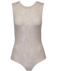 Acacia Swimwear - Cloud9 Bodysuit One Piece Swimsuit - Light Snake Lining - Lyst