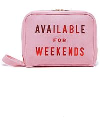 Ban.do - Available For Weekends Getaway Tolietries Bag - Lyst