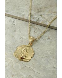 Vanessa Mooney - The Mother Madonna Starburst Necklace - Gold - Lyst