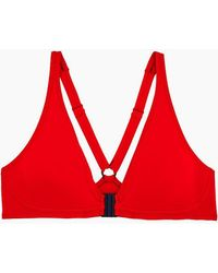 Vilebrequin - Barbara Racerback Bikini Top - Poppy Red - Lyst
