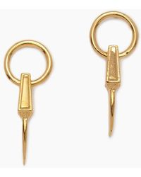 Vanessa Mooney - The Farrow Earrings - Gold - Lyst